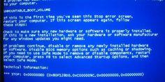 Error de pantalla azul llega a iOS 7