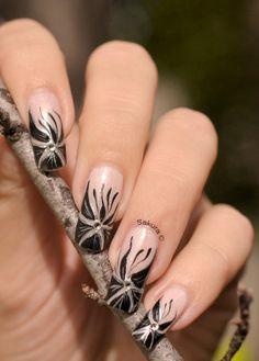 SAKURA Nail Art♥♡♥#nail #nails #nailart