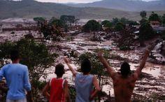 05/11 - Vista dos estragos causados pelo rompimento da barragem de rejeito da empresa de mineração Samarco, no subdistrito de Bento Rodrigues, em Mariana (MG)
