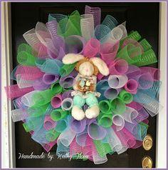 easter wreaths to make for front door | April 2013 Sketch Blog Challenge