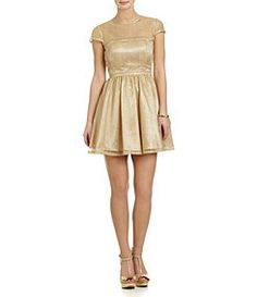 Hailey Logan Illusion Party Dress