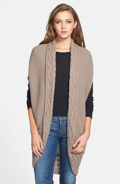 Phase 3 Tarnish Open Front Knit Vest available at #Nordstrom