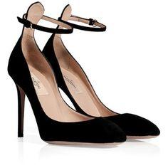 valentino black suede high heeled pumps polyvore black suede high heeled by giuseppe zanotti 300x300