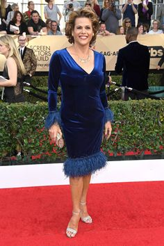 See photos from the red carpet at the 2017 Screen Actors Guild Awards Web News, Sag Awards, Moving Forward, Celebrity News, Red Carpet, It Cast, Actresses, Actors, Formal Dresses