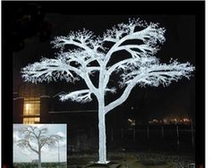LED Christmas Trees, Maple trees, cherry trees and LED weeping willow trees.