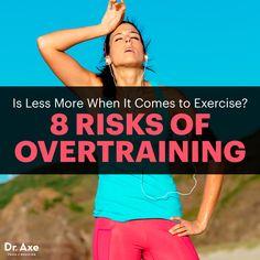 Risks of overtraining - Dr. Axe