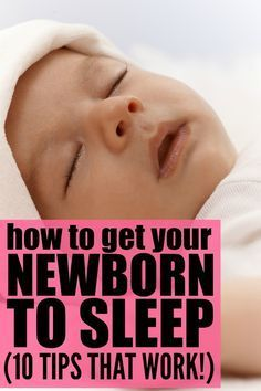 Whomever coined the term 'sleep like a baby' never spent much time with a newborn. AMIRIGHT?! But thanks to these FABULOUS sleep tips for new parents, you can learn how to get your newborn to sleep sooner than later so those first few months of parenthood don't feel so overwhelming. Good luck!