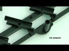 Comment construire une pergola bioclimatique - YouTube