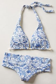 Discover new bikinis and two-piece swimwear at Anthropologie. Shop bikinis from brands like L Space, Mara Hoffman and more. Summer Of Love, Summer Time, Summer Beach, Beachwear, Swimwear, Cute Swimsuits, Tan Lines, Beach Babe, Look Fashion
