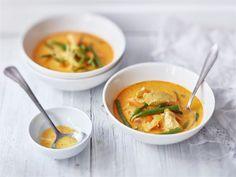 Kana-currykeitto