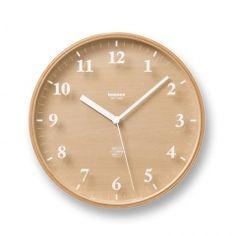 Lemnos Clock via Ank | 2d studio in vorm