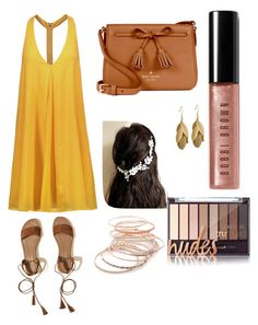 """""""boho"""" by electicspy on Polyvore featuring Alice + Olivia, Hollister Co., Kate Spade, Red Camel and Bobbi Brown Cosmetics"""