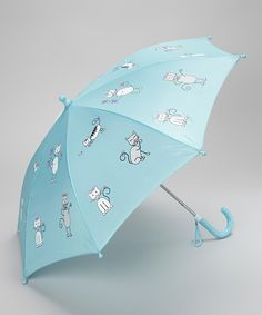 Love this Foxfire Angel Blue Kitten Umbrella by Foxfire on #zulily! #zulilyfinds