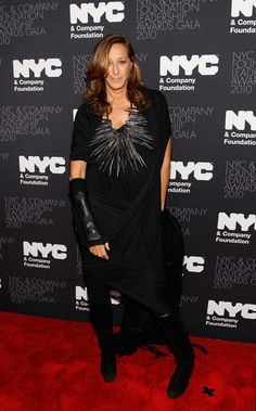 Donna Karan Silver Statement Necklace - Donna Karan Looks - StyleBistro