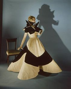 """""""Clover Leaf"""" Charles James;  Date: 1953 Culture: American Medium: silk, synthetic  Gift of Mrs. Cornelius V. Whitney, 1953"""