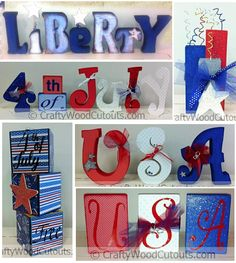 4th of July Wood Crafts