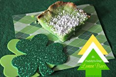 Four Marrs and One Venus: St. Paddy's Day Lemon Bars