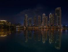 Dubai-in-the-night by riccardolu