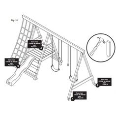 Swing Set Plans. Must have for baby Lilly