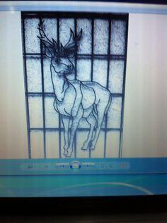 #deer #hund #art #ironart