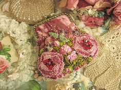 Vintage embroidered purse.