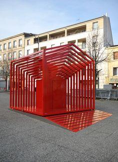 Le Cub Gigogne by Dorothee Noirbent, Paris Design Week, Art & Installation, Art, Public Space Design, Designer, Design, h-a-l-e.com