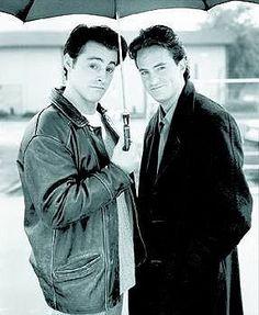Chandler (Matthew Perry) & Joey (Matt LeBlanc) <3