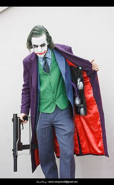 really good cosplay of the joker