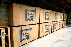 New Nortons still in crates