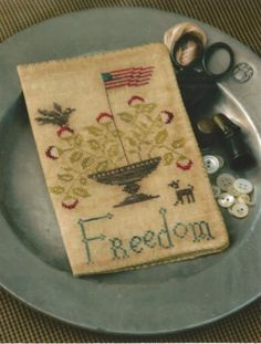 """STACY NASH PRIMITIVES """"Freedom Needle Book"""" 