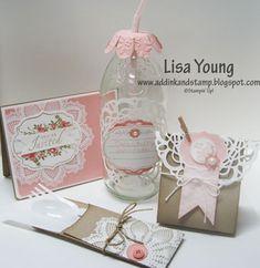 Vintage Bridal Shower Ensemble by genesis - Cards and Paper Crafts at Splitcoaststampers