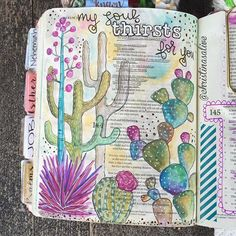 Bible Journaling by Christina Lowery @christinasalive | Psalm 143