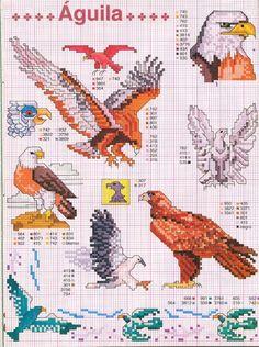 Mini Cross Stitch, Cross Stitch Borders, Cross Stitch Animals, Cross Stitch Charts, Cross Stitch Designs, Cross Stitching, Cross Stitch Embroidery, Cross Stitch Patterns, Blackwork Patterns