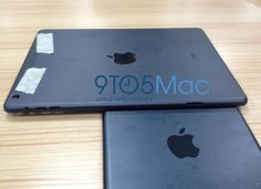 [Perhaps] the first pictures of the new Apple iPad 5
