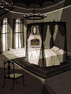 Strange Pilgrims - portilloillustration.com