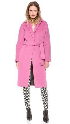 the perfect pink car coat // malene birger