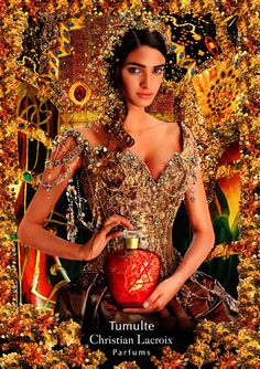 Christian Lacroix perfume ad.