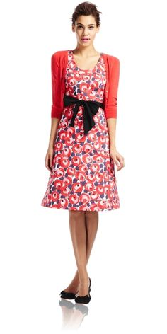 Retro Rose Dress - really really LOVE this style! Want to buy this dress and vest!
