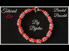 Gorgeous Beaded Bracelet - Chenille Stitch Tutorial - YouTube
