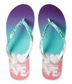 62c728a05b242c Love Aero Flip-Flop - Aeropostale Flip Flop Shop