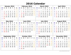 Printable 2016 Calendar One Page – Free Printable 2020 Monthly Calendar with Holidays