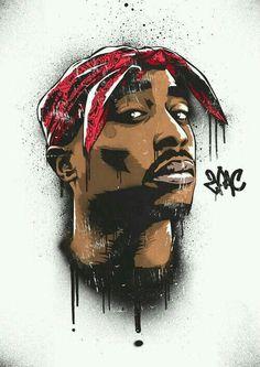 Art-Poster Rap and hip-hop - Tupac, by Bokkaboom Tupac Shakur, Hd Wallpaper Für Iphone, 2pac Wallpaper, Blood Wallpaper, Graffiti Wallpaper, Desktop Backgrounds, Arte Do Hip Hop, Hip Hop Art, Tupac Art