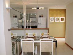 Espelho para ampliar sala de jantar pequena