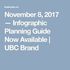 November 2017 — Infographic Planning Guide Now Available November 8, Infographic, Infographics, Info Graphics