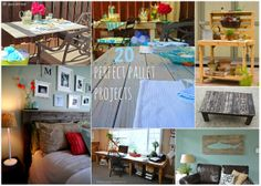 Diy Projects: 20 Perfect Pallets Projects Upcycling Ideas