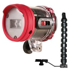 #Intova ISS 2000 #Underwater Slave #Flash with Arm & Mounting Bracket