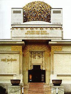 NGA: Teaching Art Nouveau: Joseph Maria Olbrich, Vienna Secession Building, 1897-1898