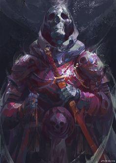 Skeleton Warrior, Jason Nguyen on ArtStation at https://www.artstation.com/artwork/eePkP