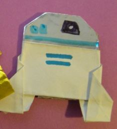 Here's an early life day present for you…. Kellen and Tommy have worked up instructions for Dwight's Origami R2D2!
