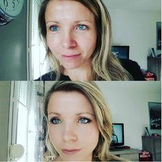 ans la série Avant Après : Par gaelledenimal #zaomakeup #makeupbioaddicted #maquillagenaturel #vegan